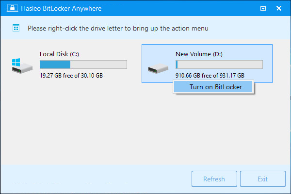 bitlocker windows 7