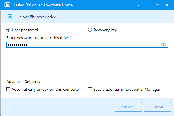 How to Unlock Bitlocker Encrypted Drive with BitLocker Anywhere?