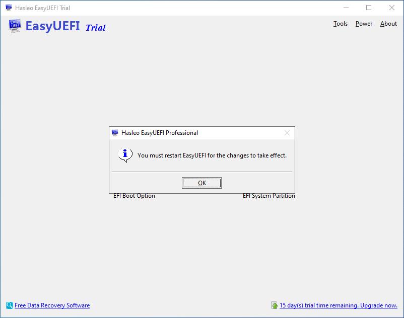 How do I register EasyUEFI? - EasyUEFI