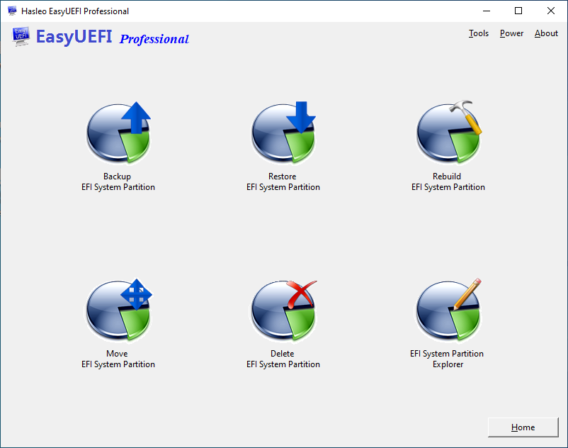 Manage EFI System Partitions