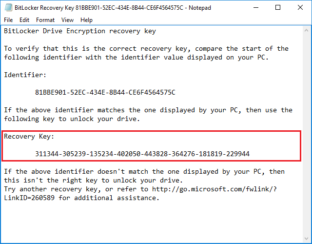What is BitLocker recovery key and how to find BitLocker