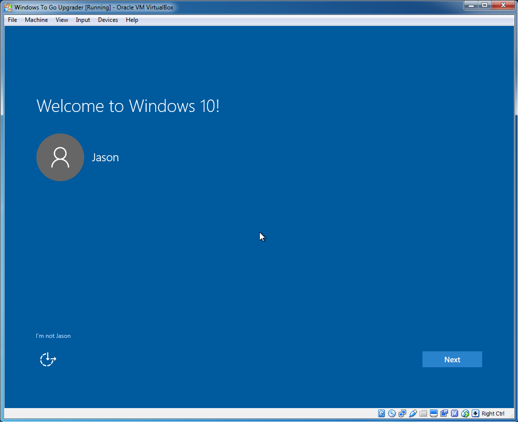 How to upgrade Windows To Go to Windows 10 May 2019 Update