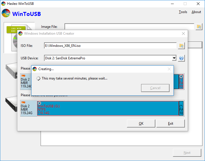 windows 8.1 live usb creator