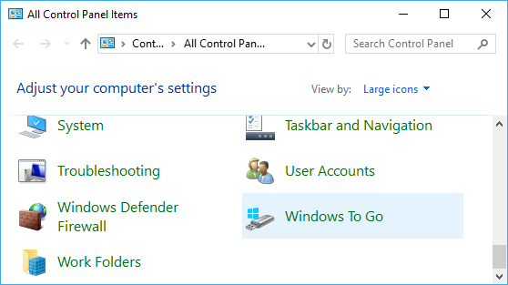 Solved] How to create Windows 10 To Go Step by Step?